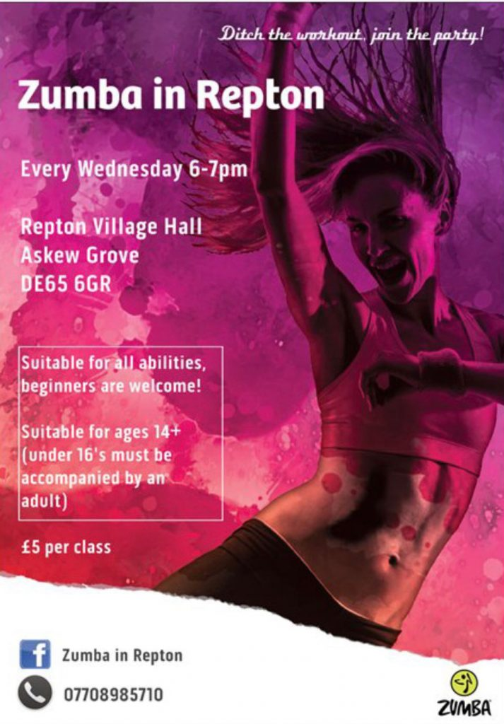 Zumba at Repton Village Hall
